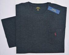 New 2XB 2XL BIG 2X Polo Ralph Lauren Men short sleeve T-shirt Tee crew black