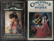Linda Ronstadt 2 Lot Cassette - Canciones De Mi Padre - Mas Canciones - Tested