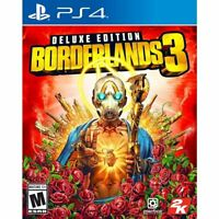 Borderlands 3 Deluxe Edition  (PS4 / PlayStation 4) BRAND NEW