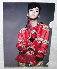 Big Bang Special Edition Still Alive Taiwan Promo mini Folder (G-DRAGON Ver.)