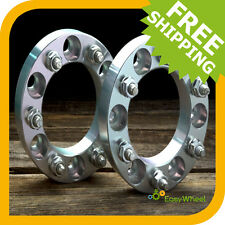 Wheel Spacers Adapters 2 inch fits ALL 6 lug Toyota: Tundra, Tacoma, 4Runner, FJ