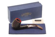 Savinelli Roma Rustic 606 KS Lucite Stem Tobacco Pipe