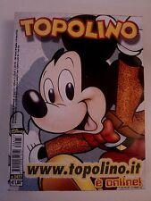 Topolino n.2477 -20 Maggio 2003- Edizioni Walt Disney