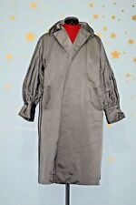 Vintage 1950s swedish silver evening duster coat