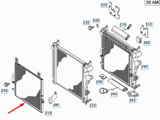 MERCEDES-BENZ SL R230 Low Temperature Radiator A2305000001 New Genuine