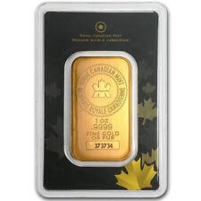 1 oz (Unze) Goldbarren - Royal Canadian Mint - Gold 999,9 Feingold Barren