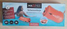 Schwimmboje aufblasbar  Maxxmee Signalfarbe orange SUP Kissen Wassersport Top