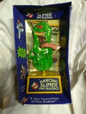 Ghost Busters Dancing Slimer Fm Radio 1989 in original box never used