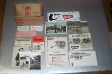 Assortment of Heddon paper ephemera, fishing postcards & actual photos