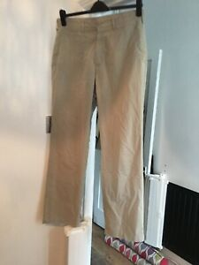 """Marks and Spencer Blue Harbour Beige Soft Touch Trousers 34"""" Waist 33"""" Leg (D5)"""