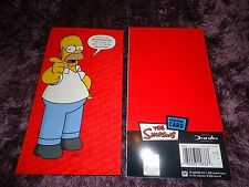 THE SIMPSONS  HOMER BIRTHDAY CARD  BRAND NEW