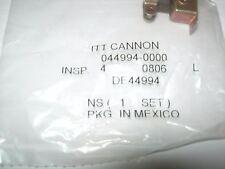 ITT Cannon DE44994 D Sub Backshell DE Steel Body