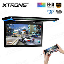 "15.6"" NON-DVD player HDMI Roof mount In Car Flip Down Monitor Games HD 1080P"