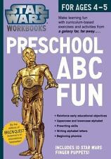 Star Wars Workbook: Preschool ABC Fun by Workman Publishing
