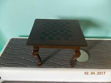 Dollhouse Miniature Chess Table