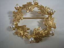 "Brooch/Pin Signed ""Am"" Total Weight 6.8 Grams New listing
