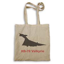 XB  70 Valkyrie Fire Jet PLANE Pilot Jet Vintage Tote bag c648r
