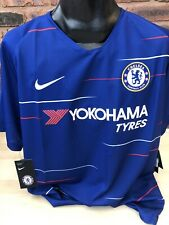 Chelsea 2018/19 Home Shirt Jersey Football by Nike Size XL London Brand New
