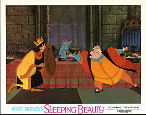 SLEEPING BEAUTY original lobby card DISNEY 11x14 movie poster
