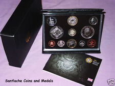 2008 ROYAL MINT DELUXE PROOF SET COINS FOR GB - Scarce London Olympics £2 & 50p