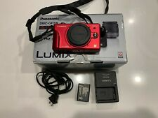 Panasonic LUMIX DMC-GF2 12.1MP Digital Camera - Red (Body Only)