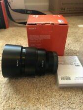 Sony 85mm F/1.8 Lens