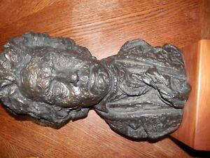 Large 1961 Vintage Reproduction Beethoven Bust Sculpture Austin Productions