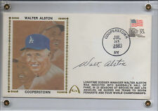 Walt Alston Signed 1983 Gateway Cachet FDC First Day Cover