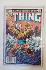 THE THING #1 Near Mint  PREMIERE ISSUE *JOE SINNOTT JOHN BYRNE COVER & ART* 1983
