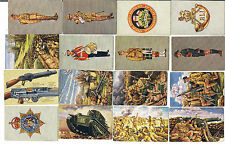 Military/War Collectable Overseas Issuers Cigarette Cards