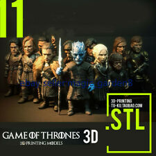 3D STL File Game of Thrones  set for CNC Router Carving Machine Artcam aspire