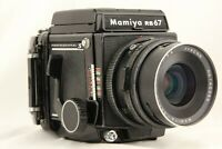 【EXC+5】 MAMIYA RB67 Pro S + SEKOR C 90mm f/3.8 Lens + 120 Film Back from JAPAN