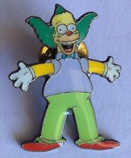 Krusty The Clown Simpsons Pin Badge Collectable (D8)