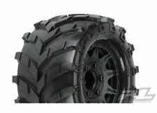 Proline Masher 2.8 All Terrain Tires Mounted on Raid Black 6x30 1192-10