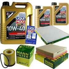 Inspection Kit Filter LIQUI MOLY Oil Oil 7L 10W-40 For Vauxhall Omega B 25_26_27
