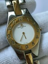 BAUME & MERCIER LINEA 5151 QUARTZ TWO TONE UNISEX 30x44mm SAPPHIRE GLASS SWISS