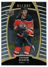 19/20 2019 UD UPPER DECK ALLURE HOCKEY BASE CARDS #1-60 U-Pick From List