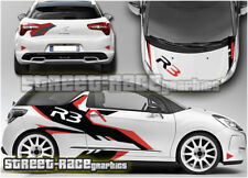 Citroen DS3 Rally 001 R3 full graphics stickers decals