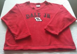 "Brand new Chase Authentics brand, ""Dale Jr. #8"" v-neck fleece type shirt size XL"