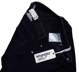 Wrangler BNWT Straight Fit Indigo Flex Stretch Jeans RRP 80 10 28W 32L