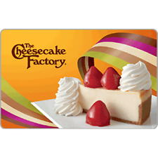 Cheesecake Factory Gift Card $25 Value, Only $22.89! Free Shipping!