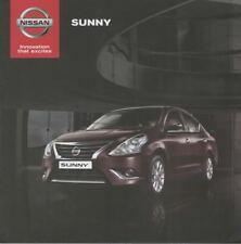 Nissan Sunny car (made in India) _2018 Prospekt / Brochure