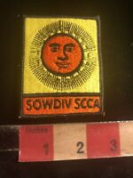 Vtg SOWDIV Southwest Division SCCA SPORTS CAR CLUB OF AMERICA Auto Patch 01B5