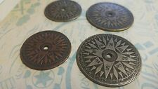 Compass Pendants Compass Coins Antiqued Silver Bronze Copper Assorted