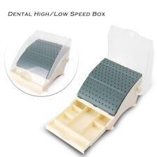 Dentist supply Dental Bur Holder 142 Burs Block Station with Pull out Drawer Box