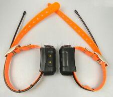 2*Garmin DC40 GPS dog Tracking Collar for Astro220/320 USA ver new orange strap
