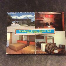 Vintage Postcard - Southern Cross Motor Inn, Snowy Mountains - Unused