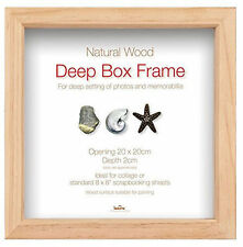 Traditional Wooden 3D Box/Deep Picture Frames