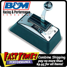 B&M Quicksilver 3-4 Speed Automatic Ratchet Floor Shifter GM Ford Chrysler Chevy
