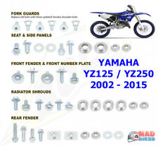 Bolt matériel complet plastique Kit Fixation OEM STYLE YAMAHA YZ 125 250 2002 à